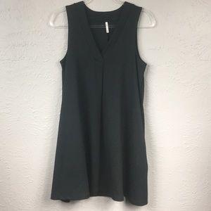 Z Supply Black Sleeveless Tent Dress w/Pockets M